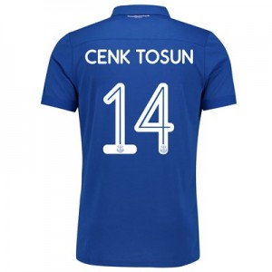 Everton Commemorative Shirt - Junior with Cenk Tosun 14 printing