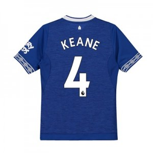 Everton Home Shirt 2018-19 - Kids with Keane 4 printing