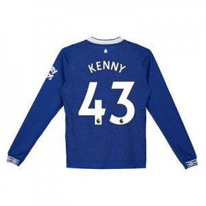 Everton Home Shirt 2018-19 - Kids - Long Sleeve with Kenny 43 printing