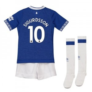 Everton Home Infant Kit 2018-19 with Sigurdsson 10 printing