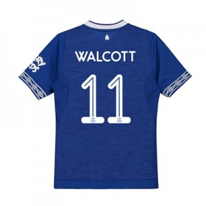 Everton Home Cup Shirt 2018-19 - Kids with Walcott 11 printing