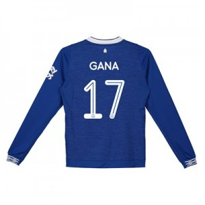 Everton Home Cup Shirt 2018-19 - Kids - Long Sleeve with Gana 17 printing