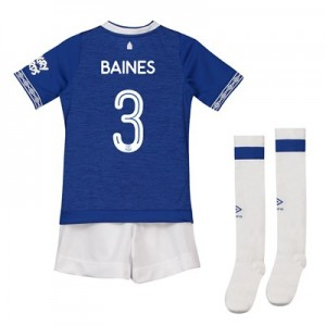 Everton Home Cup Infant Kit 2018-19 with Baines 3 printing