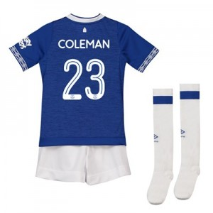 Everton Home Cup Infant Kit 2018-19 with Coleman 23 printing