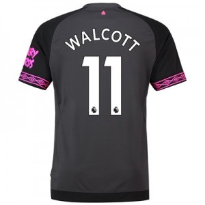 Everton Away Shirt 2018-19 with Walcott 11 printing