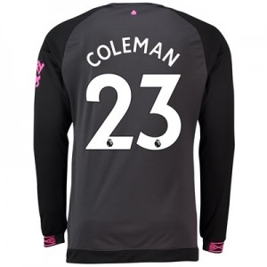 Everton Away Shirt 2018-19 - Long Sleeve with Coleman 23 printing