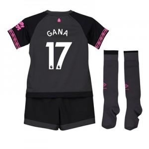 Everton Away Infant Kit 2018-19 with Gana 17 printing
