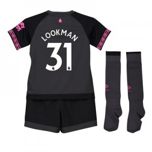 Everton Away Infant Kit 2018-19 with Lookman 31 printing