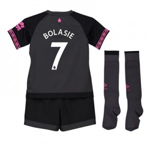 Everton Away Baby Kit 2018-19 with Bolasie 7 printing