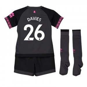 Everton Away Baby Kit 2018-19 with Davies 26 printing