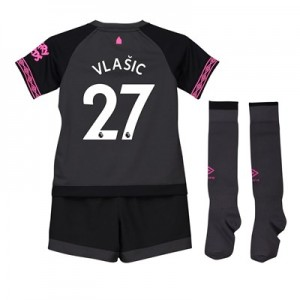 Everton Away Baby Kit 2018-19 with Vlašic 27 printing