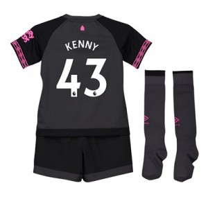Everton Away Baby Kit 2018-19 with Kenny 43 printing