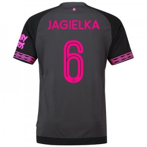 Everton Away Cup Shirt 2018-19 with Jagielka 6 printing