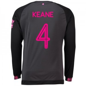 Everton Away Cup Shirt 2018-19 - Long Sleeve with Keane 4 printing