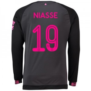 Everton Away Cup Shirt 2018-19 - Long Sleeve with Niasse 19 printing