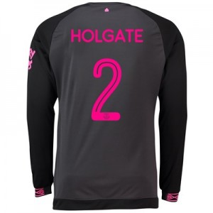 Everton Away Cup Shirt 2018-19 - Long Sleeve with Holgate 2 printing
