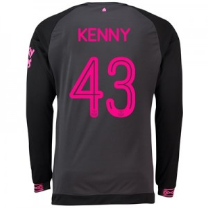 Everton Away Cup Shirt 2018-19 - Long Sleeve with Kenny 43 printing