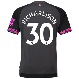 Everton Away Shirt 2018-19 with Richarlison 30 printing