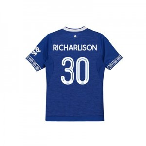 Everton Home Cup Shirt 2018-19 - Kids with Richarlison 30 printing