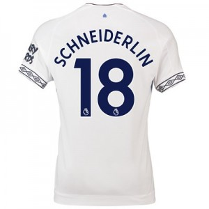 Everton Third Shirt 2018-19 with Schneiderlin 18 printing