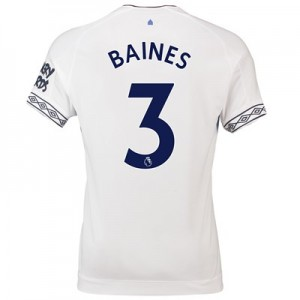 Everton Third Shirt 2018-19 with Baines 3 printing