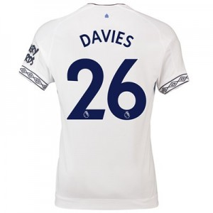 Everton Third Shirt 2018-19 with Davies 26 printing