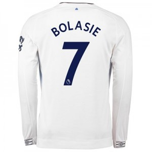Everton Third Shirt 2018-19 - Long Sleeve with Bolasie 7 printing
