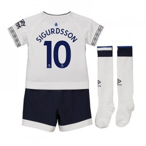 Everton Third Infant Kit 2018-19 with Sigurdsson 10 printing