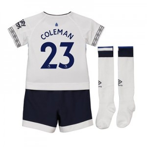 Everton Third Infant Kit 2018-19 with Coleman 23 printing