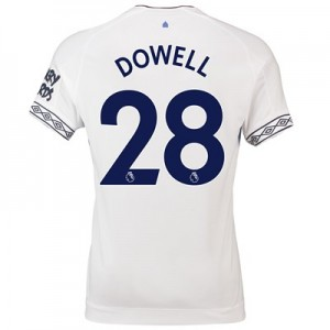 Everton Third Shirt 2018-19 with Dowell 28 printing