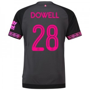 Everton Away Cup Shirt 2018-19 with Dowell 28 printing