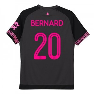 Everton Away Cup Shirt 2018-19 - Kids with Bernard 20 printing