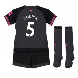 Everton Away Baby Kit 2018-19 with Zouma 5 printing
