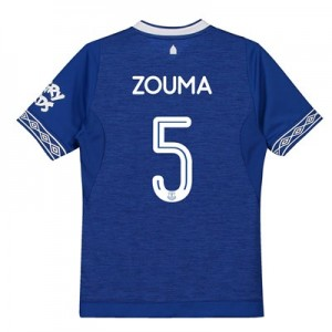 Everton Home Cup Shirt 2018-19 - Kids with Zouma 5 printing