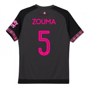 Everton Away Cup Shirt 2018-19 - Kids with Zouma 5 printing