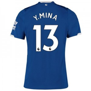 Everton Home Shirt 2019-20 with Y.Mina 13 printing