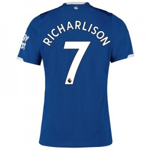 Everton Home Shirt 2019-20 with Richarlison 7 printing