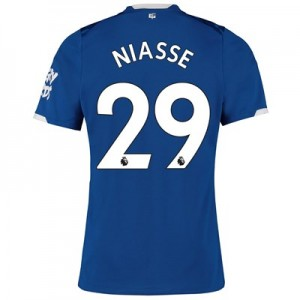 Everton Home Shirt 2019-20 with Niasse 29 printing