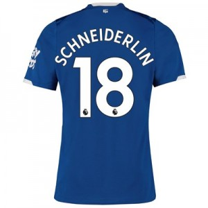 Everton Home Shirt 2019-20 with Schneiderlin 18 printing