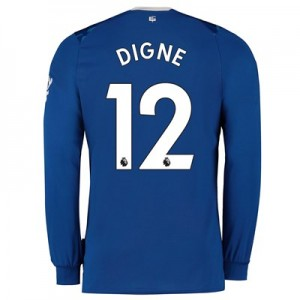 Everton Home Shirt 2019-20 - Long Sleeve with Digne 12 printing