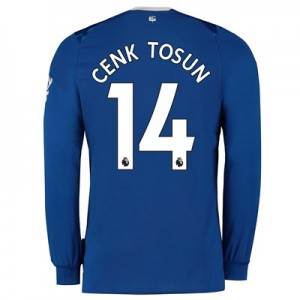 Everton Home Shirt 2019-20 - Long Sleeve with Cenk Tosun 14 printing