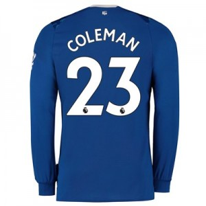 Everton Home Shirt 2019-20 - Long Sleeve with Coleman 23 printing