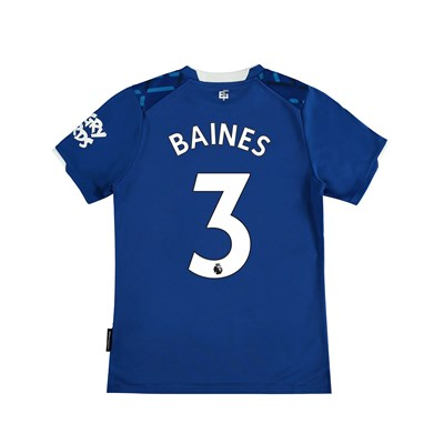 Everton Home Shirt 2019-20 - Kids with Baines 3 printing