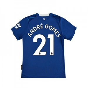 Everton Home Shirt 2019-20 - Kids with André Gomes 21 printing