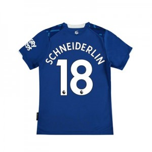 Everton Home Shirt 2019-20 - Kids with Schneiderlin 18 printing