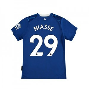 Everton Home Shirt 2019-20 - Kids with Niasse 29 printing