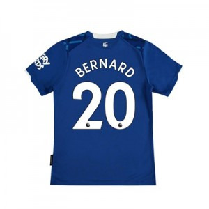 Everton Home Shirt 2019-20 - Kids with Bernard 20 printing