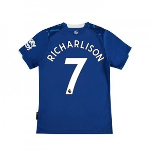 Everton Home Shirt 2019-20 - Kids with Richarlison 7 printing