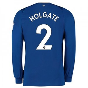Everton Home Shirt 2019-20 - Kids - Long Sleeve with Holgate 2 printing