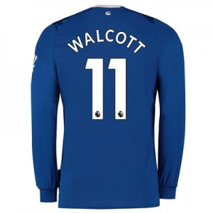 Everton Home Shirt 2019-20 - Kids - Long Sleeve with Walcott 11 printing